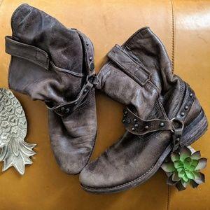Sam Edelman western vintage look Moto boots